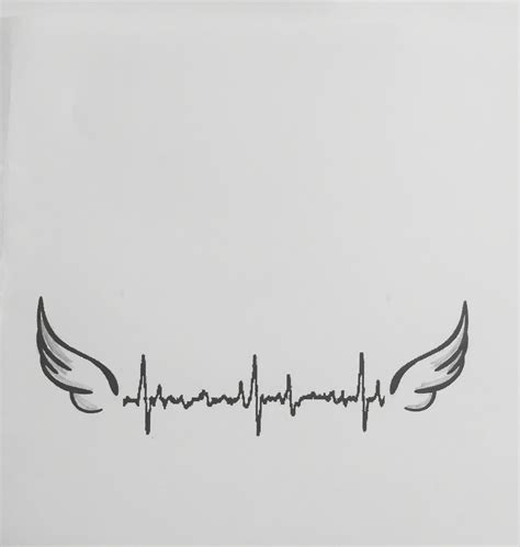 heartbeat line tattoo heartbeat need to add ethan s name and use his