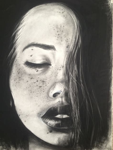 Drawing With Charcoal by Charcoal Drawing That I Adore