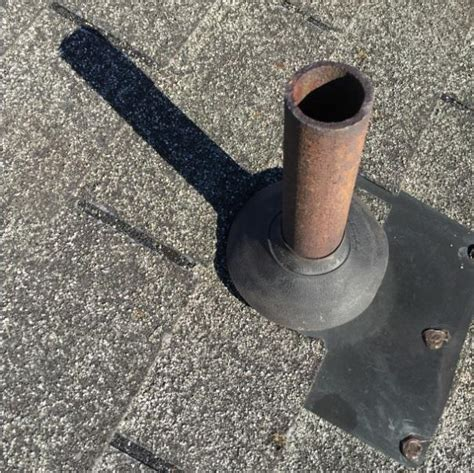 boat repair union hall va replaced pipe boot seal