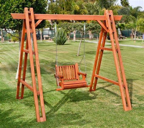 redwood swing sets rory s armchair swing set redwood swings forever redwood