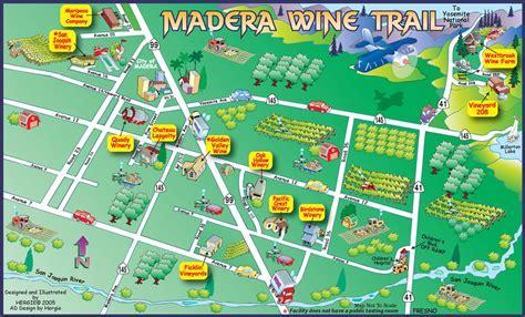 madera california map madera wine map madera california mappery