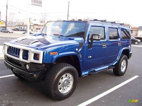 blue hummer 2006 pacific blue hummer h2 suv 7019117 photo 4
