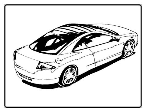 Fast Cars Coloring Pages by Fast Car Coloring Pages Coloring Home