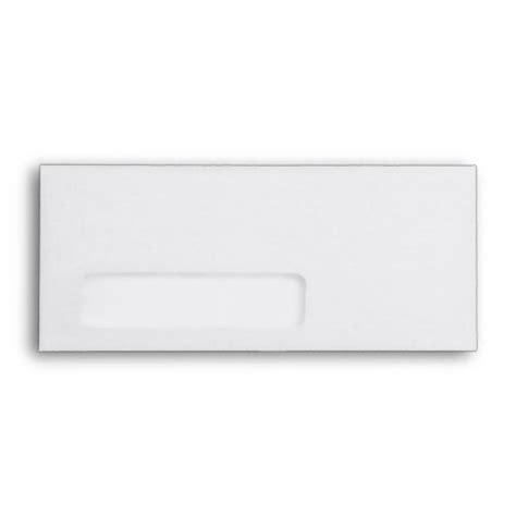 white 9 envelope template with window zazzle