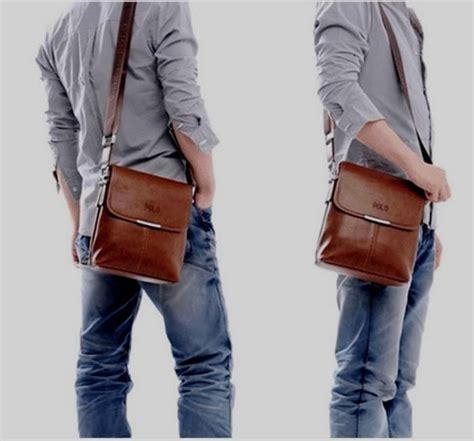 Tas Slempang Cowok Polo Kulit jual tas pria cowok selempang messenger bag kulit polo