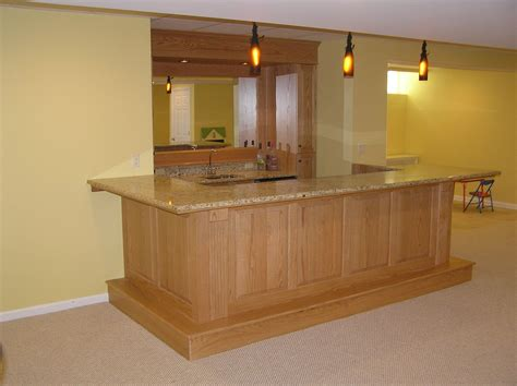 custom made bar tops hand made finished basement and bar morris county nj by