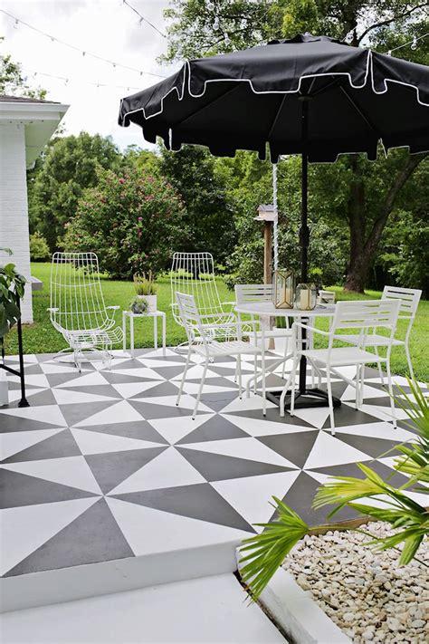 deco patio renovar los pisos de un patio con pintura estilos deco