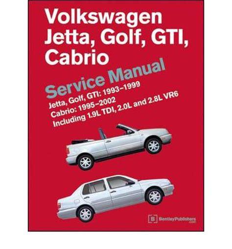 online auto repair manual 2002 volkswagen golf head up display volkswagen jetta golf gti 1993 1999 cabrio 1995 2002 service manual sagin workshop car