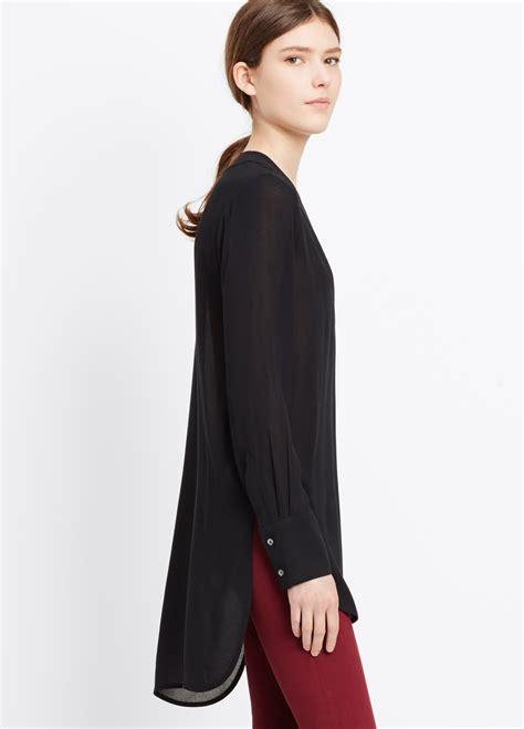V Neck Sleeve Blouse v neck sleeve blouse leopard trim blouse