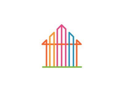 home interiors logo house design plans real estate by communication agency dribbble