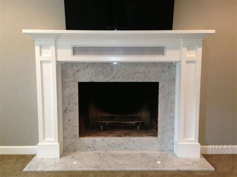 Asbestos Fireplace Surround by Mantel With Storage Mitre Contracting Inc