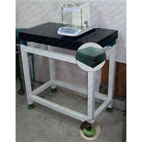 shock resistant table anti vibration table anti