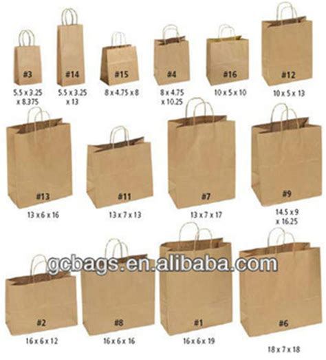 How To Make A Small Paper Bag - wholesale small kraft brown paper bags buy small kraft