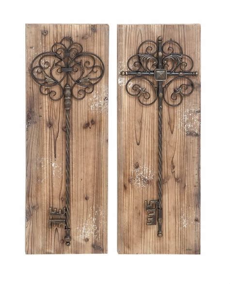 Panel Wood Rushteriosnew Set aged wood vintage door wall panel set with rustic decorative