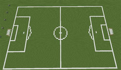how to make a football field in your backyard soccer stadium minecraft project