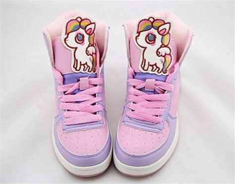 Harajuku Shoe shoes kei unicorn harajuku decora