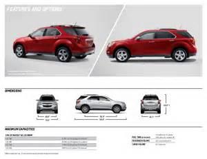Chevrolet Equinox Size 2014 Chevrolet Equinox Brochure