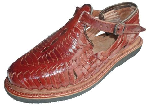 mexican huarache sandals s closed toe huarache sandals wine mexican huaraches