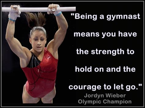 gymnastic quotes about courage quotesgram