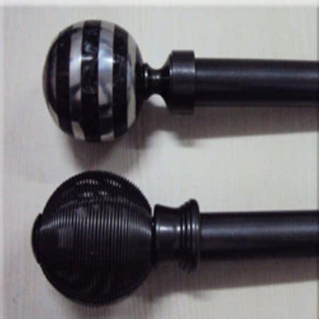 9 curtain rod crafton india metal finials 9 classic curtain rods price