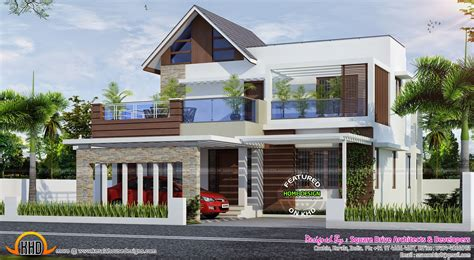 modern house plan kerala february 2015 kerala home design and floor plans