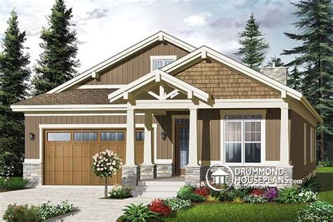 small craftsman style home plans plan of the week quot craftsman gem for narrow lots