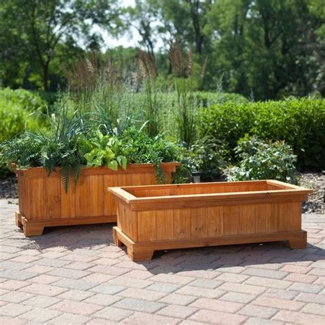 Patio Planter Box Plans by