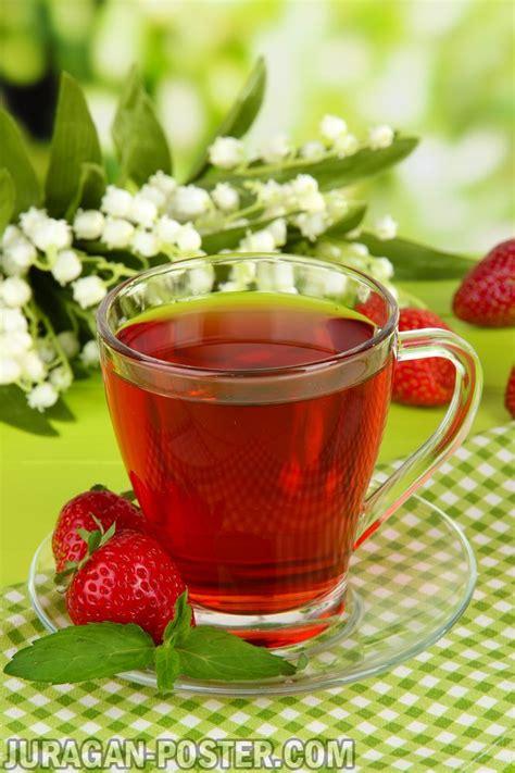 tasty fragrant tea  fruit drinks jual poster