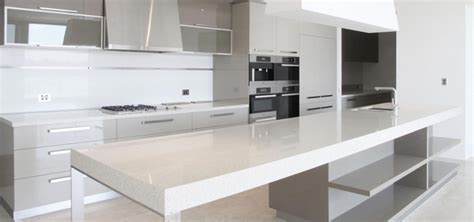 White And Black Kitchen Designs by Kitchens Imperial Stone