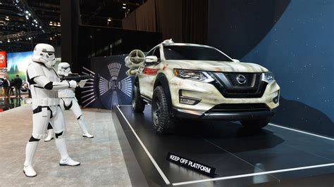 2017 nissan rogue star nissan rogue star wars concept chicago 2017 photo