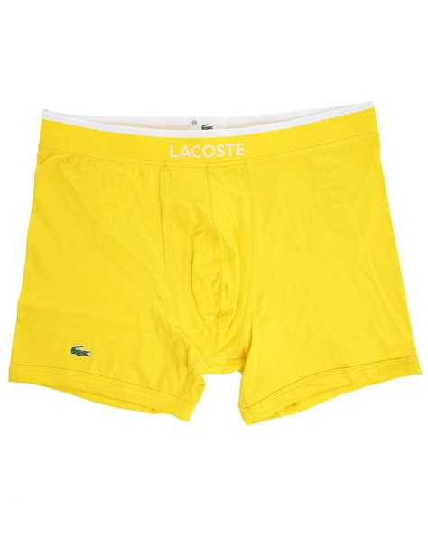 Cotton Dress Yellow Blue 30086 lacoste sky blue and yellow cotton briefs in yellow for sky lyst