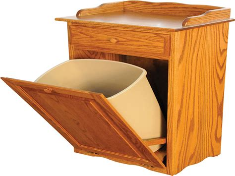 tilt out trash bin cabinet with drawer dining room tables measurements wood trash bin tilt out