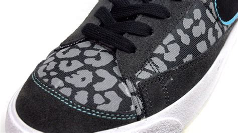 Premium Leopard Orange Blazer price 60 nike blazer mid 77 premium leopard 537327 004 black silver blue s shoe buy
