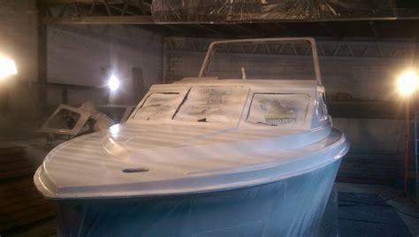 Lackierung Vorbereitung by Lackierung Eines Gfk Bootes Teil Iii Grundierung