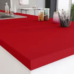 Supérieur Plan Travail Cuisine Leroy Merlin #1: plan-de-travail-stratifie-rouge-rouge-3-mat-l-300-x-p-65-cm-ep-38-mm.jpg