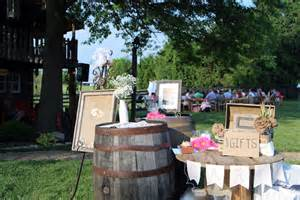 rustic wedding decor ideas moonlight fields central