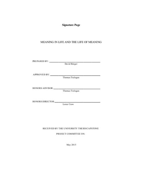 honors thesis abstract honors thesis final draft as printed