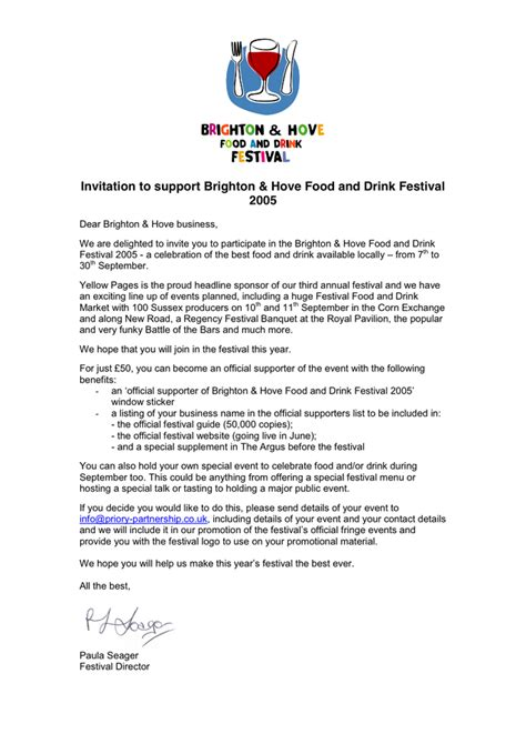 Sponsorship Request Letter Pdf Sponsorship In Word And Pdf Formats