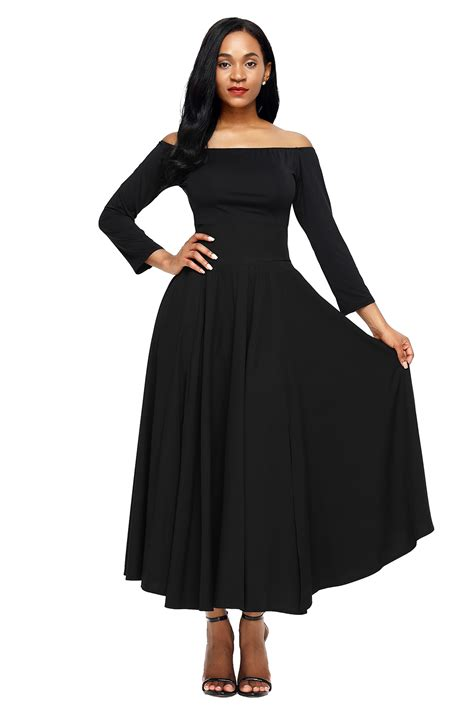 wholesale black retro high waist pleated belted maxi skirt