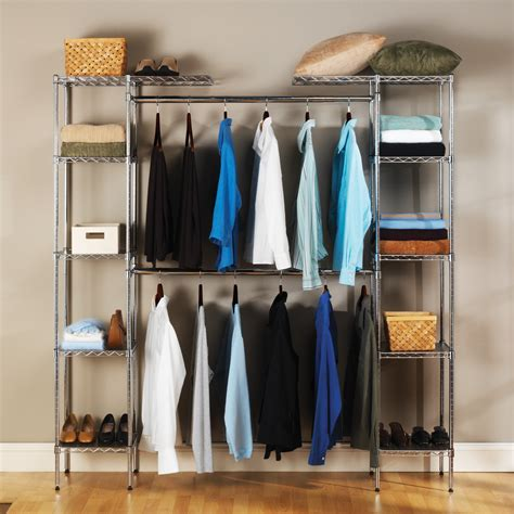 heavy duty closet organizer seville classics 14 quot heavy duty steel wire expandable