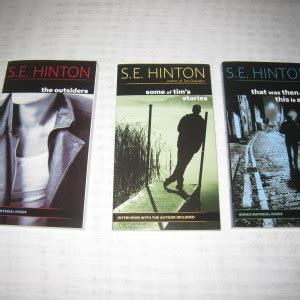 s e hinton bio poem adolescent young adult literature the outsiders by s e hinton that was then this is now