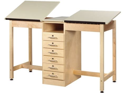 Drafting Table With Drawers Drafting Table 6 Drawers Dvr 21a Drafting Tables