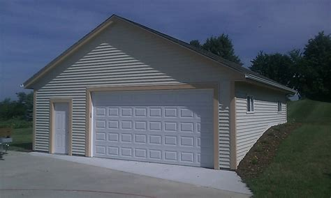 2 car detached garage 2 1 2 car detached garages supreme garages inc