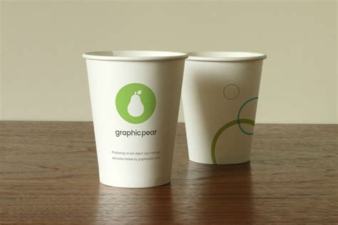 Paper Cup - disposable paper cup mockups mockupworld