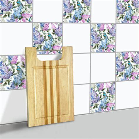 blumen perlen fliesen aufkleber badezimmer wohnzimmer - Perlen Wand Badezimmer