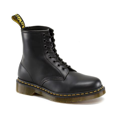 dr marten boots for dr martens 1460 8 eye smooth leather boot black 11822006