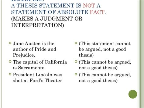 harvard thesis a thesis statement is not a fact developing a thesis