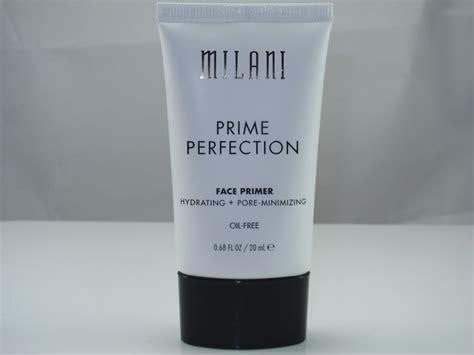 Sale Milani Prime Perfection Hydrating Pore Minimizing Primer milani prime perfection hydrating pore minimizing primer review swatches cosmetics