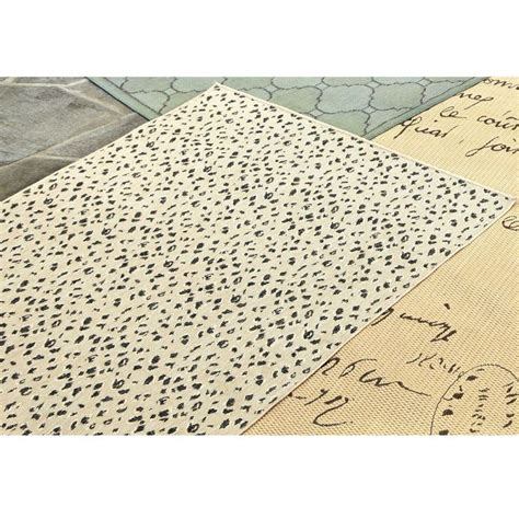 Leopard Outdoor Rug Leopard Belgique Indoor Outdoor Rug Rue De Swiss Pinterest