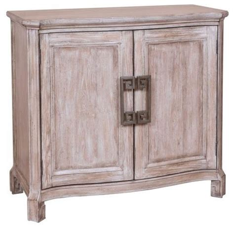 hospitality cabinet distressed brown finish traditional